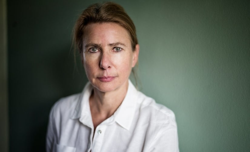 Author Lionel Shriver. Image courtesy Twitter/@thebookseller