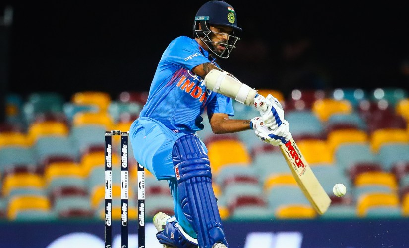 Shikhar Dhawan's blistering innings ended in vain as India lost by 4 runs. AFP