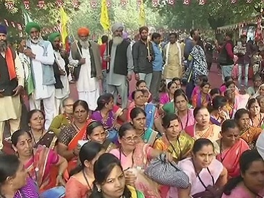 Farmers march: Thousands of protesters converge on Parliament Street today; over 3,500 police personnel deployed in area