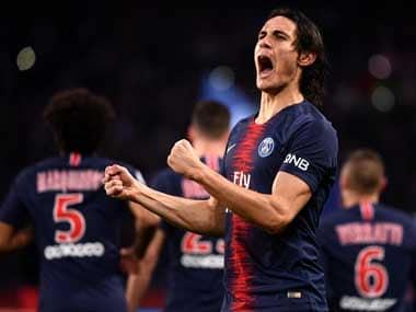 Edinson Cavani's goal was enough for Paris Saint-Germain to record a win against Toulouse. AFP