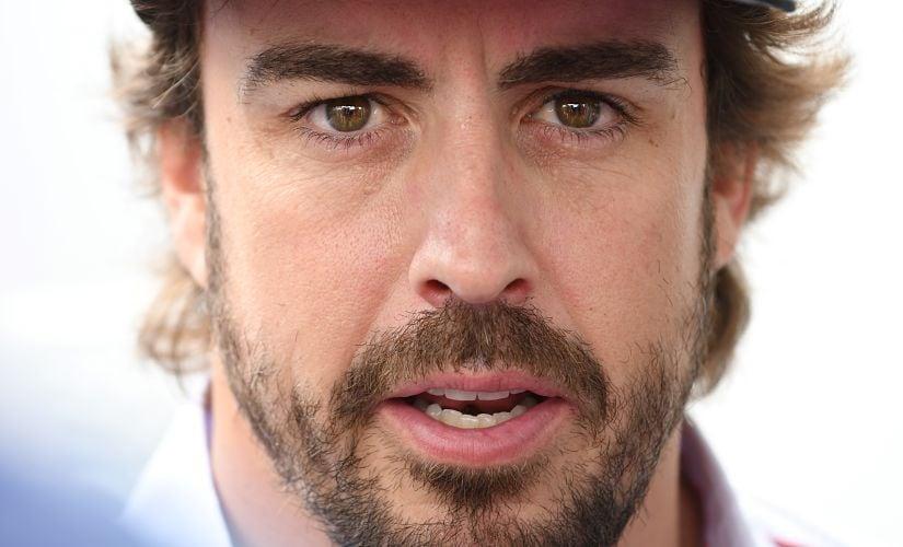 Fernando Alonso. AFP