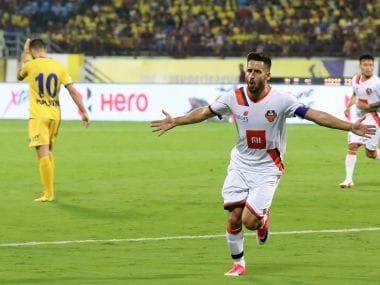 ISL 2018-19: Ferran Corominas' brace helps FC Goa pile more misery on Kerala Blasters FC