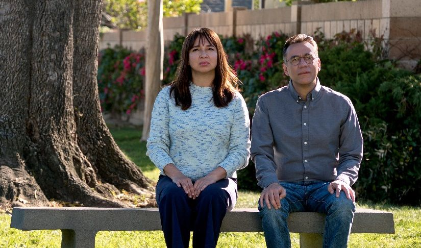 Maya Rudolph and Fred Armisen in Forever. Amazon Prime