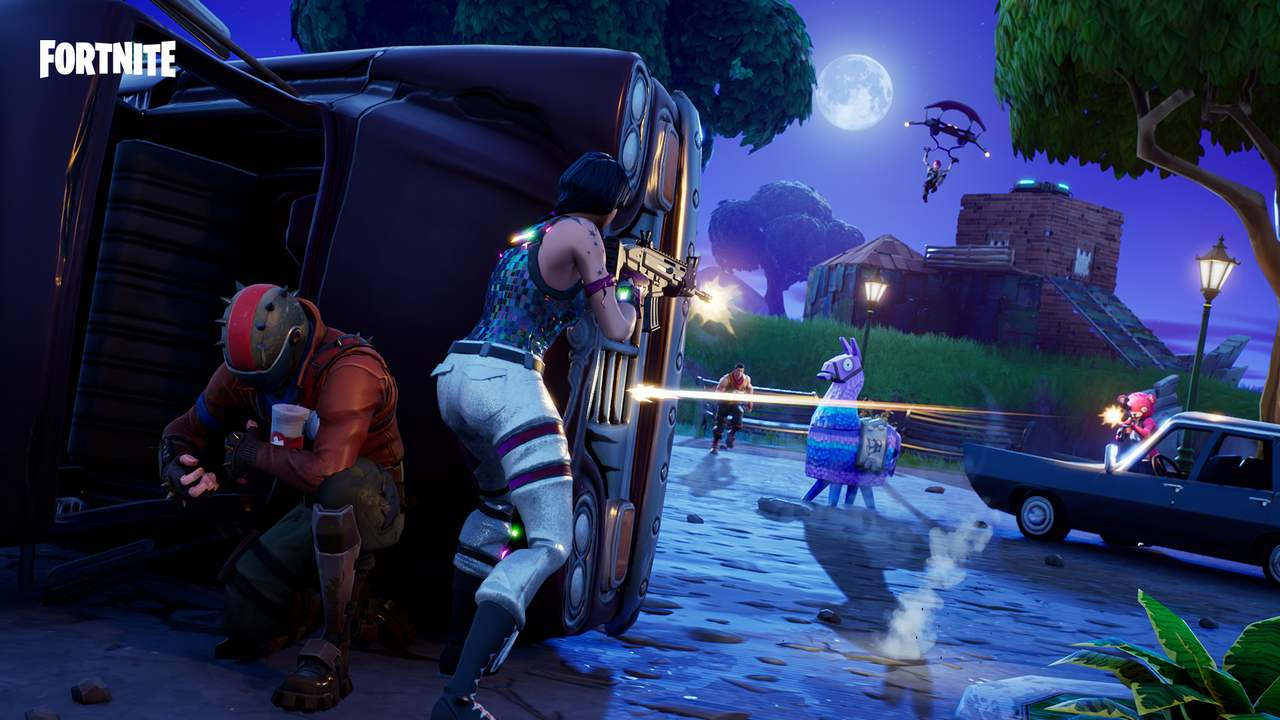 The server downtime shouldn't be longer than 2-3 hours. Image: Epic Games
