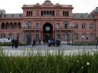 Leaders from the Group of 20 industrialized nations will meet at the presidential palace in Buenos Aires, Argentina. AP