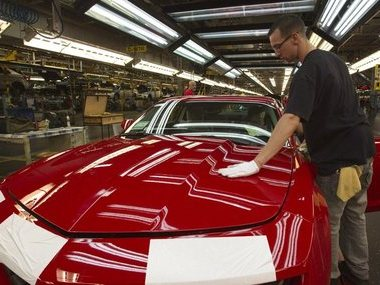 At least 5 GM plants will be shuttered and ~15000 workers laid off. AP