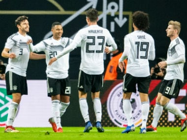 New-look Germany register easy win over Russia as coach Joachim Loew begins rebuilding process following World Cup debacle