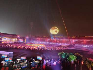 Multiple film stars, bollywod singers graced the opening ceremony of the 2018 Hockey World Cup in Bhubaneswar. Firstpost/Shantany Srivastava