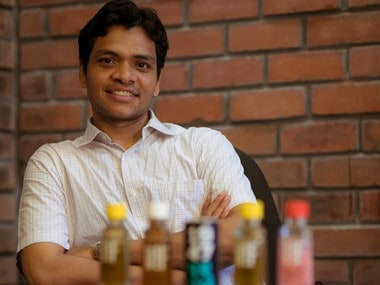 Harish Mohan, founder, Sipwise Beverages. Pic Courtesy: Sipwise Beverages