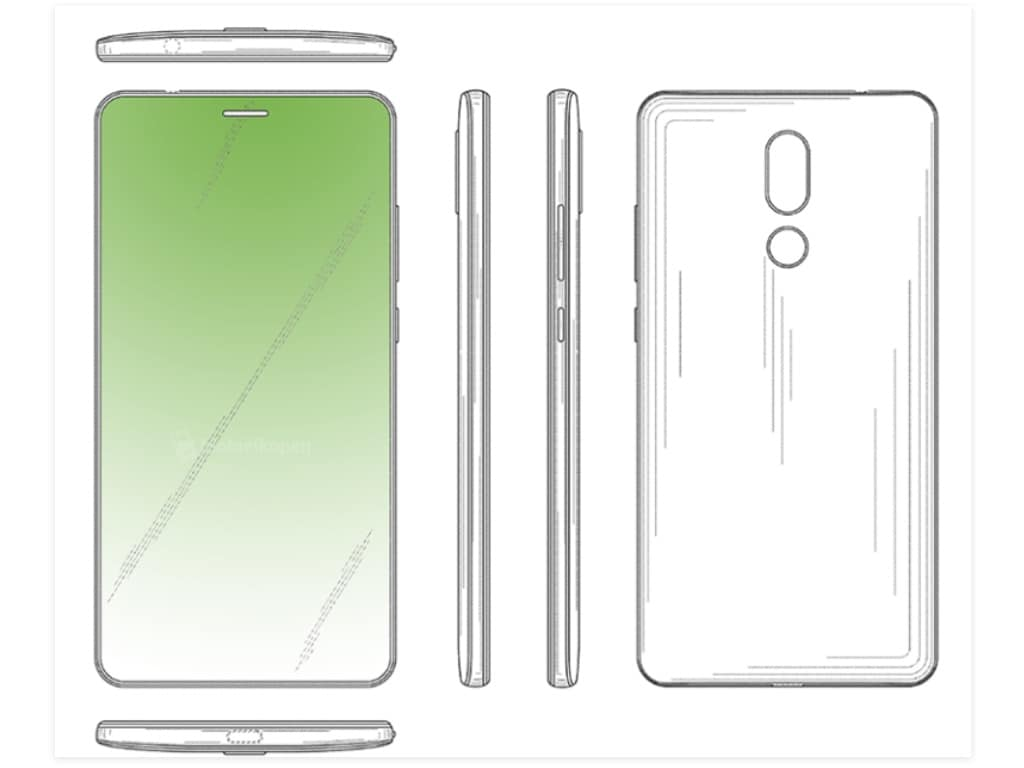 Huaweis new smartphone design patent reveals an in-display earpiece technology