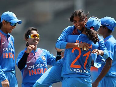 File picture of members of Indian women's team. Image courtesy @BCCIWomen on Twitter