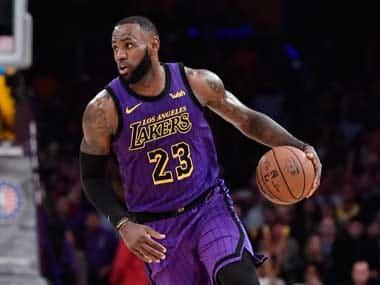 0eebe2954 NBA  Lakers star LeBron James nearing return