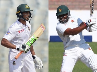 Highlights, Bangladesh vs Zimbabwe, 1st Test at Sylhet, Day 2, Full Cricket Score: Tendai Chatara and Sikandar Raza shine as visitors take big lead