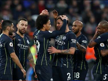 Manchester City were rampant as they took apart West Ham's defence to beat them 4-0. Reuters