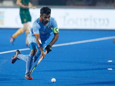 India captain Manpreet Singh was allegedly yelled at in full public view. File image.