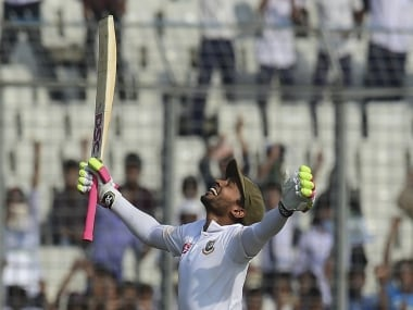 Mushfiqur Rahim recently became the first wicketkeeper-batsman to have scored two double tons in Test cricket. AFP