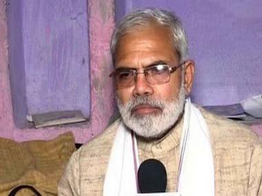 Abhinandan Pathak, lookalike of Prime Minister Narendra Modi. ANI