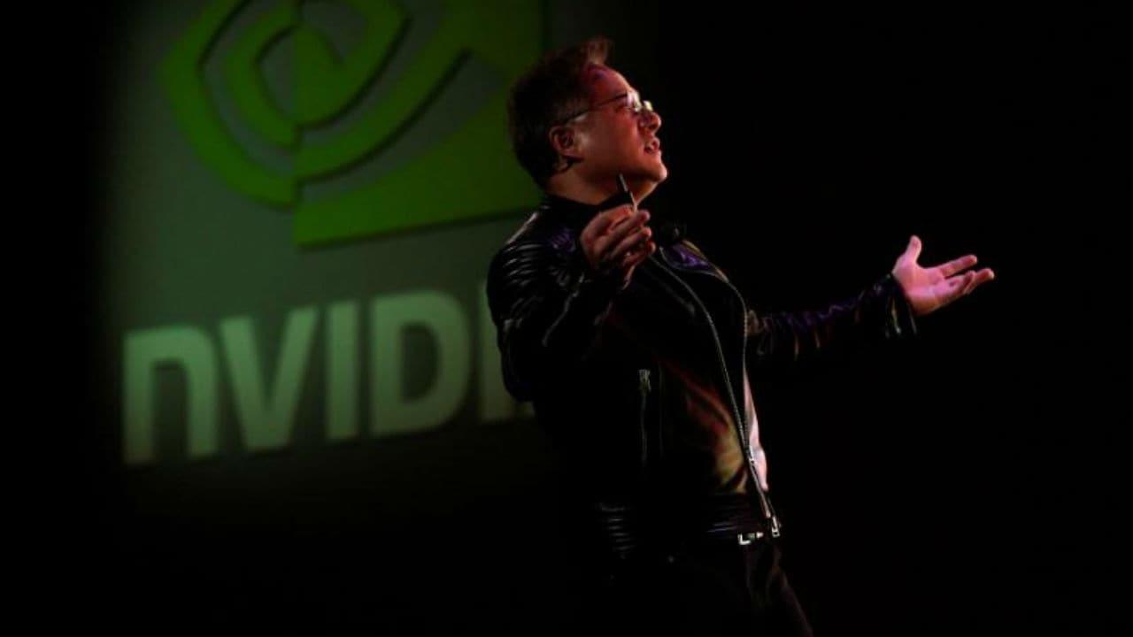 Jensen Huang, CEO of Nvidia. Image: Reuters