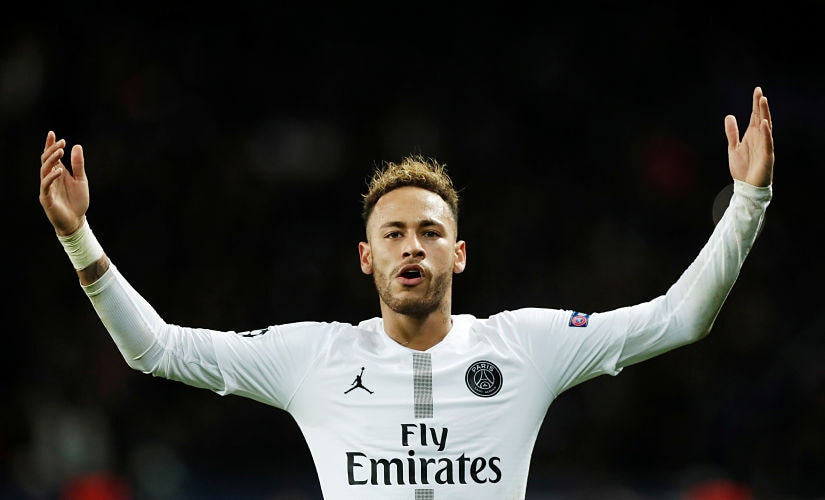 Neymar is staking claim to Cristiano Ronaldo's title of football's most talented but disliked player. Reuters/Benoit Tessier