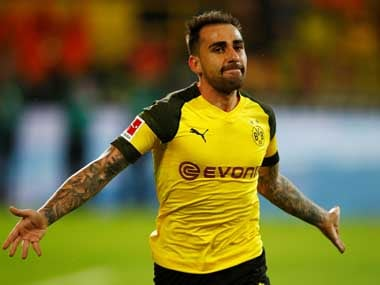 File image of Paco Alcacer. Reuters