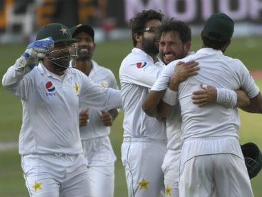 Yasir Shah's 14-wicket match haul was a key factor in guiding Pakistan to an innings win in Dubai. AP