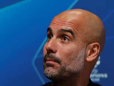 File image of Pep Guardiola. Reuters