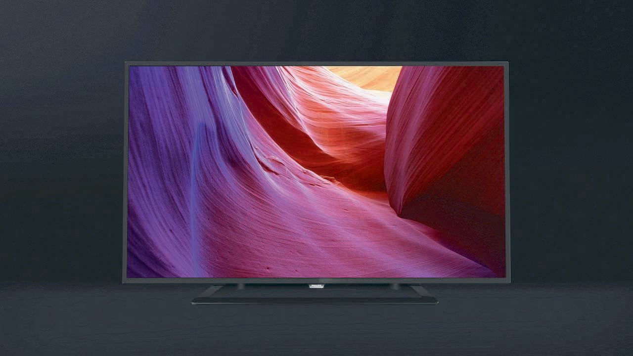 The entry-level Philips 4200 22-inch LED TV. Image: TP Vision