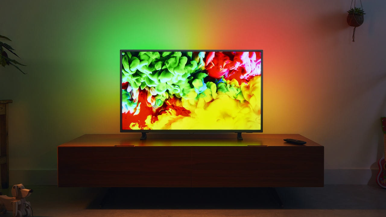 Philips 9703 65-inch smart LED TV. Image: TP Vision
