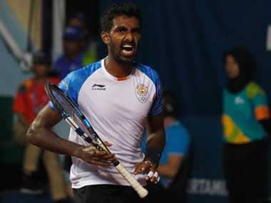 File image of Prajnesh Gunneswaran. Reuters