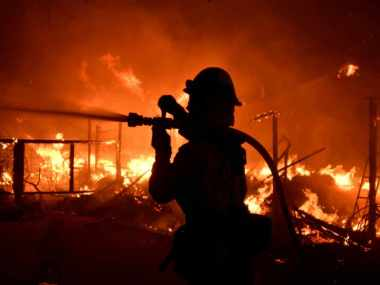California wildfires: Search underway for over 100 missing people; Governor says state 'in midst of a catastrophe'