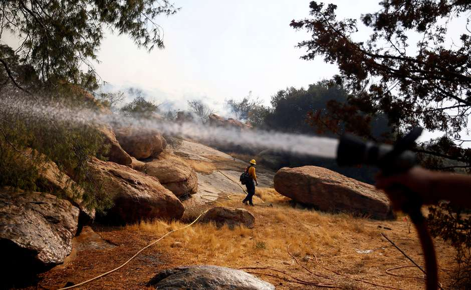 Rescuers estimate that they will need three weeks to fully contain the blaze. Evacuation orders have been issued to more than a quarter of a million people across California. Reuters