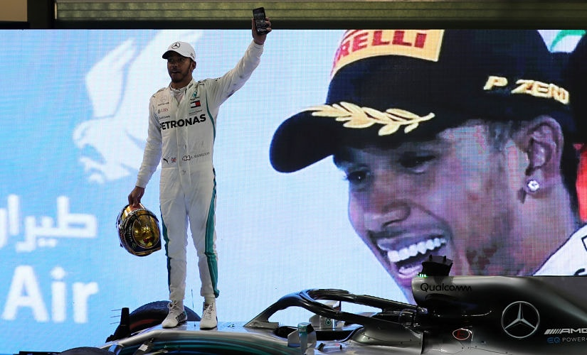 It took Lewis Hamilton and Mercedes four races to claim their first win of the season. Reuters