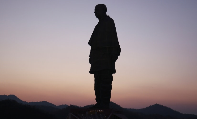 The Statue of Unity. Reuters/Amit Dave