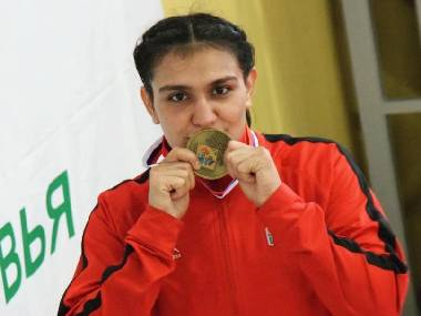 Saweety Boora, who will represent India in the 75kg weight class at the upcoming AIBA Women's World Championships. Image courtesy: Boxing Federation of India