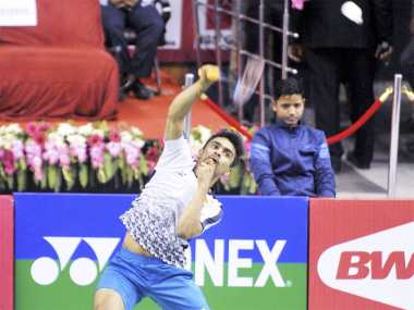 Sameer Verma clinched Syed Modi International 2018 title with a hard-fought win over China's Lu Guangzu in the final. PTI