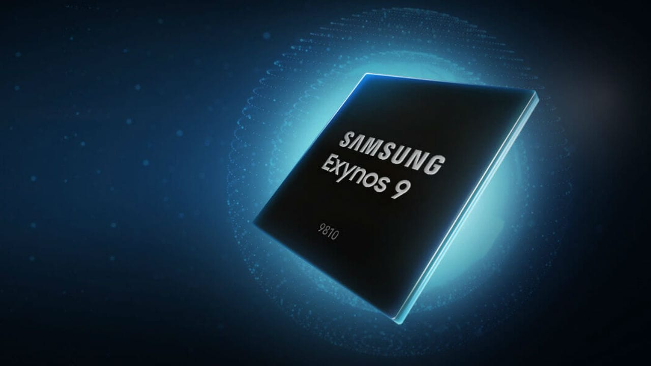 Samsung makes its own portable chipsets