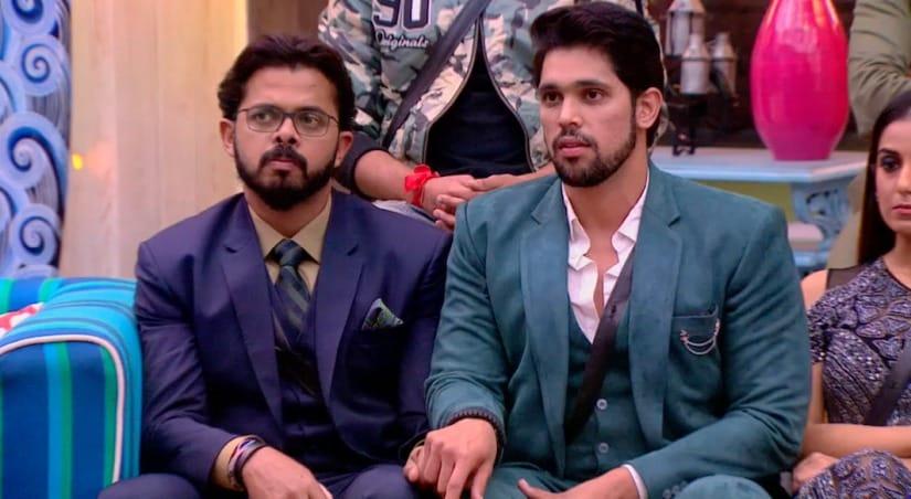 Sressanth and Shivashish Mishra in Bigg Boss