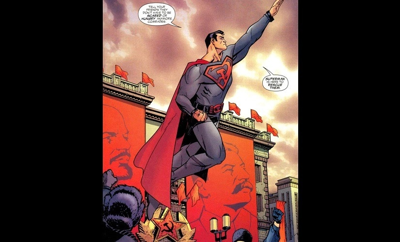 It turns out the real superpower was communism | Source: DC comics
