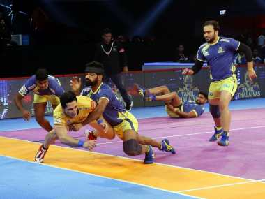 In-form Tamil Thalaivas and Patna Pirates lock horn in crucial Pro Kabaddi League encounter Image Courtesy: PKL