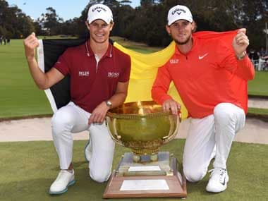Thomas Pieters, Thomas Detry hold off Mexico and Australia to win Belgiums first ever World Cup of golf