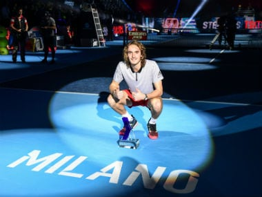 Next Gen ATP Finals: Greece's Stefanos Tsitsipas downs Alex de Minaur to win title but was left 'confused' by rules of tournament