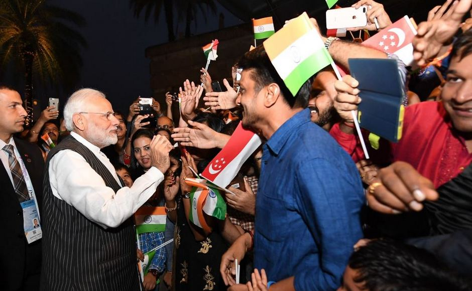 During his two day visit, Modi attended the East Asia Summit, an ASEAN-India informal meet, the Regional Comprehensive Economic Partnership summit.