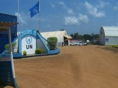 Headquarters of the United Nations peacekeeping operations in the Democratic Republic of Congo. IANS
