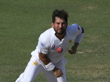 File picture of Yasir Shah. AP