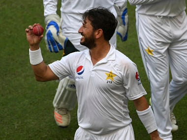 Yasir Shah registered career-best figures of 8/41 in Tests on Day two of the 2nd Test against New Zealand. AP