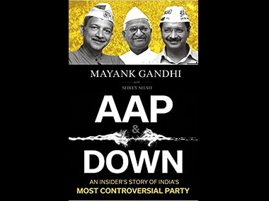 Cover for Mayank Gandhi's AAP & Down