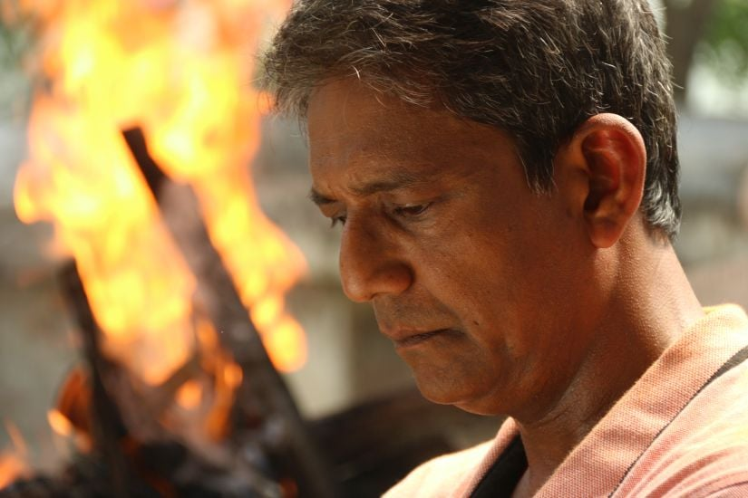 Adil Hussain in a still from Abyakto