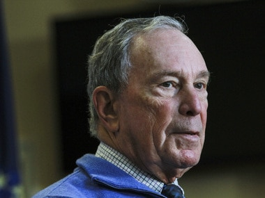File picture of Michael Bloomberg. AP
