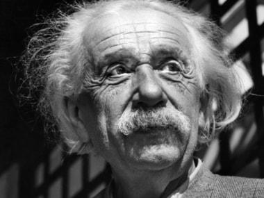 A June, 1954, file photo of physicist Albert Einstein in Princeton, N.J. AP