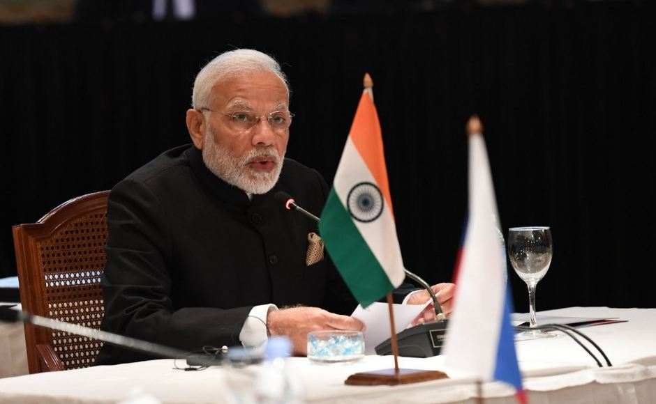 Addressing an informal meeting of the leaders of BRICS countries, he said that terrorism and radicalisation were the biggest challenges the world was facing and underlined the need for the BRICS and G20 countries to work together to strengthen the UN counter terrorism framework. Twitter/@PIB_India